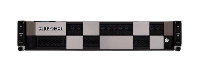 효성인포메이션시스템이 공급 중인 HCI 솔루션 히타치 UCP(Unified Compute Platform) HC 제품 모습.