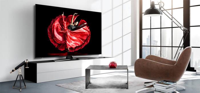 하이센스가 2018년 호주에 출시한 OLED TV (사진=하이센스)
