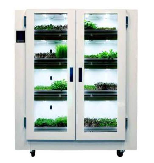 해외의 상업용 식물 재배기 예시 출처 - 농림축산식품부