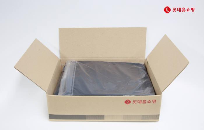 롯데홈쇼핑, 업계 최초 '친환경 비닐 포장재' 도입