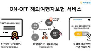 금융위 혁신금융서비스에 농협손보 'On-Off 해외여행자보험' 선정