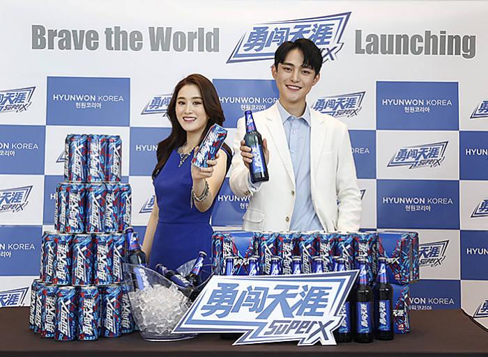 세계 판매 1위 맥주 中 화윤설화 '슈퍼엑스' 국내 출시