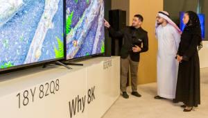 삼성전자, 2019년형 삼성 QLED TV 중동 지역 출시 행사 열어