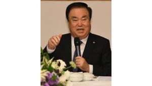 문 의장, 박태성 북한 최고인민회의 신임의장에게 취임축하 서한전달