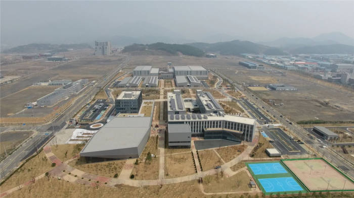 6월 완공 예정인 국가 물산업클러스터. [자료:한국환경공단]