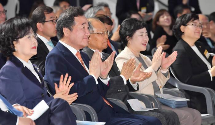 2019 과학·정보통신의날 기념식이 22일 서울 중구 동대문디자인플라자에서 열렸다. 박지호기자 jihopress@etnews.com