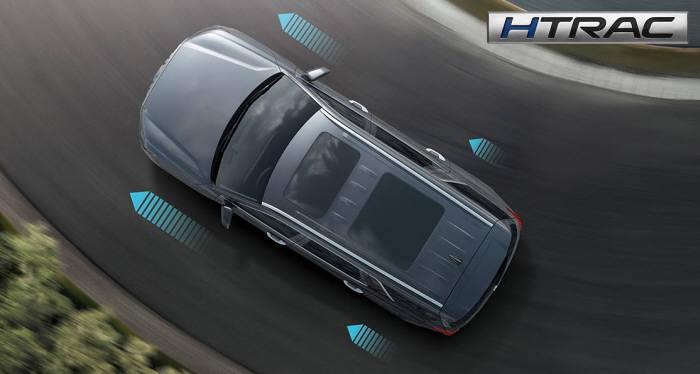 상시 사륜구동 시스템 HTRAC 이미지.
