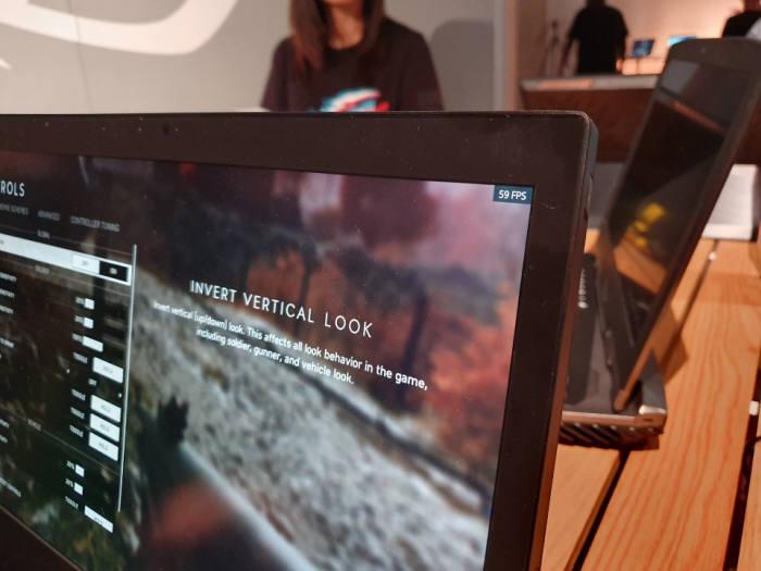 마더십 4K UHD 제품에서의 배틀필드5 FPS 수치. 이영호기자youngtiger@etnews.com