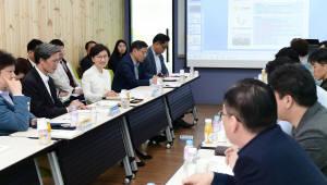 이화순 경기도 행정2부지사, 도내 벤처기업인 경영애로 해소를 위한 현장행보