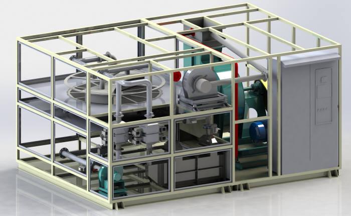 에코프로가 개발한 마이크로웨이브를 이용한 휘발성유기화합물(VOCs) 제거 시스템. (사진=에코프로)
