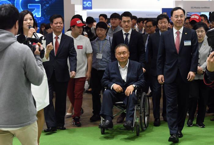 [WIS 2019] WIS2019 개막, 손안에 펼쳐진 5G