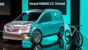 [클릭!이 차]내년 양산 앞둔 르노, 전기LCV '캉구 Z.E.'