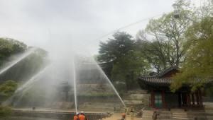 [르포]숭례문 화재 그후...'지능성 CCTV'가 바꾼 문화재 관리