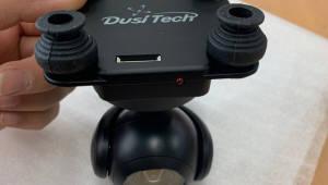 두시텍, 드론용 통합 통신모듈과 카메라 짐벌 개발