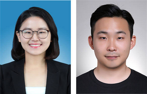 국민대 박나영 학생(사진 왼쪽)과 이형규 학생