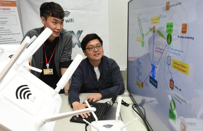 SK텔레콤, 세계 최초 30Gbps 속도 '와이파이7' 상용화 착수