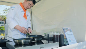 LG전자, 국내외 정상급 셰프와 하이브리드 전기레인지 요리 협업
