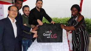 LG전자, 나이지리아에 무료 세탁방 열어