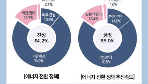 """""""국민 84% 에너지전환 찬성""""…신뢰도는 '글쎄'"""