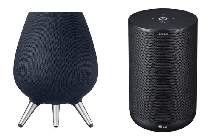 삼성 갤럭시 홈과 LG 엑스붐 AI 씽큐