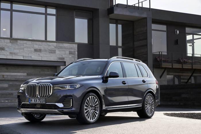 BMW 새 플래그십 대형 SUV X7.