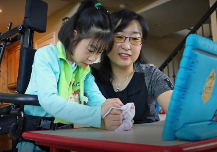전남대 출신 이수경 미국 오레곤 의대 교수와 희소병을 앓고 있는 딸.