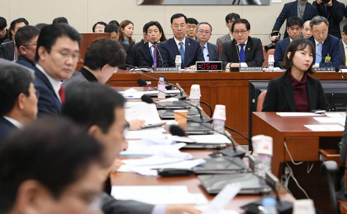 국회 과학기술정보방송통신위원회 회의.