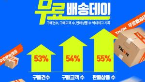 티몬, '무료배송데이'에 구매고객 54% 늘었다