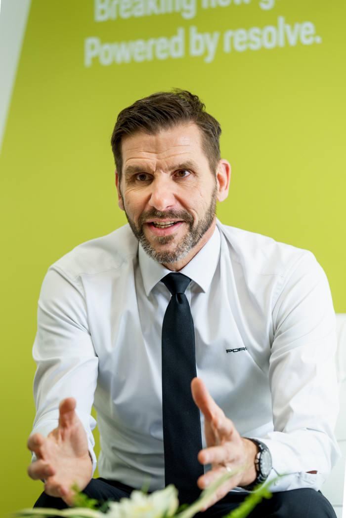 마이클 키르쉬 포르쉐코리아 대표.