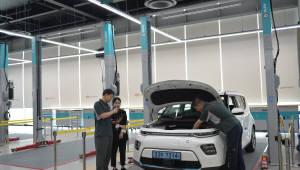 기아차, '전기차' 전용 정비 작업장 설치