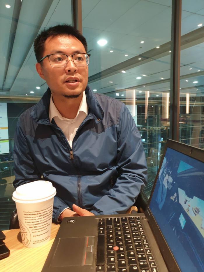 트리스탄 다이(Tristan Dai) 노이톰(NOITOM) 공동 창업자 겸 최고기술책임자(CTO).