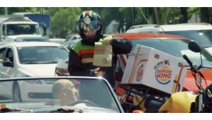 도로 막히는데 배고프면 햄버거 시켜 먹자…버거킹, 배달 서비스