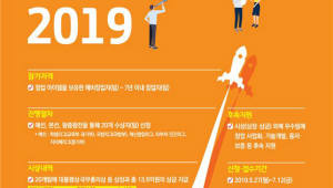 총 13억5000만원 규모 국내 최대 창업경진대회 참가 모집