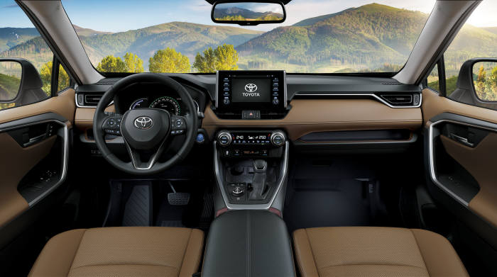 토요타 콤팩트 SUV 뉴 제너레이션 라브4 5세대 모델 인테리어 (제공=토요타코리아)