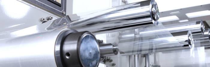 미래나노텍은 정밀한 얼라인 기술을 적용한 최적화된 롤투롤 기술을 자체 개발하고 대량 생산 설비를 갖췄다. (사진=미래나노텍)