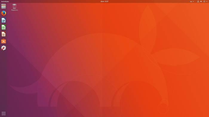 우분투 OS 구동 이미지