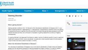 WHO, 게임장애 질병으로 분류...2022년까지 유예