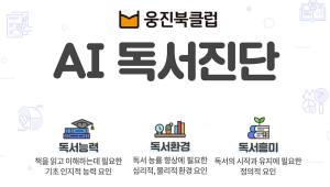 {htmlspecialchars(웅진씽크빅, AI독서케어 출시기념 독서검진 이벤트 실시)}