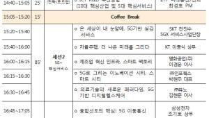 IITP, 5G기반 신산업 육성 주제 '테크&퓨처 인사이트' 콘서트 개최