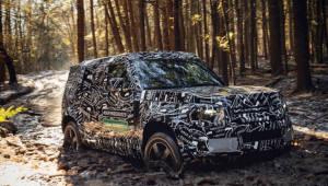 英 랜드로버 SUV '디펜더'...LG전자 전장부품 대거 탑재해 4년만 부활