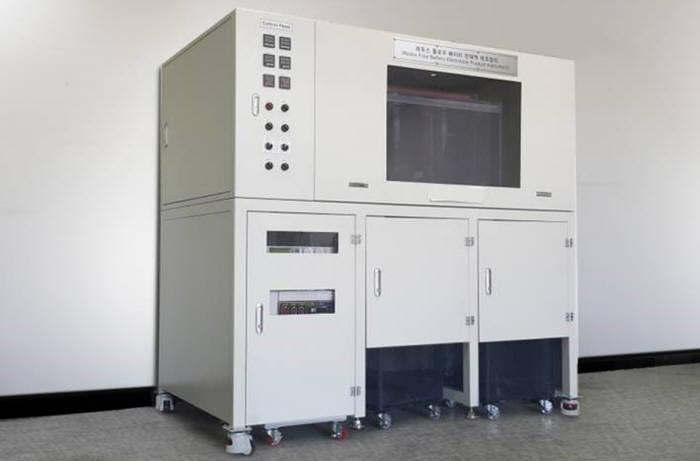 미르호가 국내 최초로 개발한 레독스플로배터리 전해액 제조장치