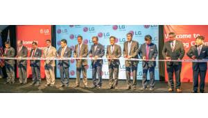LG전자 테네시 세탁기공장 준공식, 세계 최고 수준의 지능형 자율공장 가동
