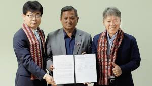 KT, 네팔에서 글로벌 기가스토리 프로젝트 추진