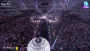 네이버 브이라이브, BTS 英 웸블리 공연 중계... 라이브 기술 글로벌 경쟁력 검증