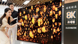 LG전자 '8K+OLED' 출사표...4000만원대 올레드TV 예판 돌입