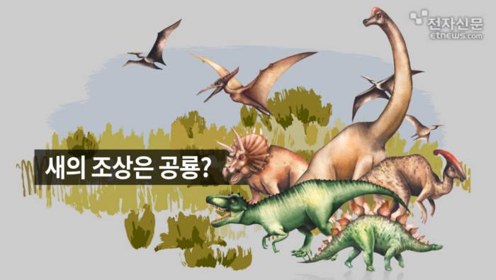 [모션그래픽]새의 조상은 공룡?