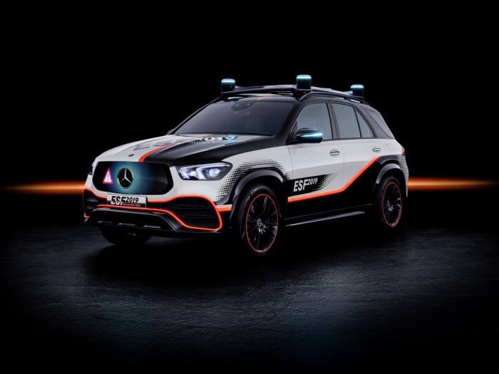 메르세데스-벤츠 최신 안전실험 차량 ESF 2019.