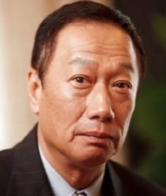 궈타이밍 대만 홍하이그룹 회장