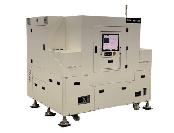 큐엠씨가 개발한 고속 마이크로LED 전사 장비 (사진=큐엠씨)