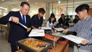 이개호 농식품부 장관, '천원의 아침밥' 나누며 쌀 소비 독려